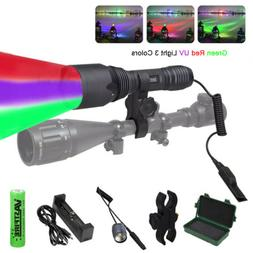 100 Yard 1 Mode C10 Green/Red/ UV Light Tactical Hunting 186