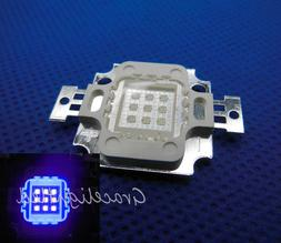 10W High Power LED UV Light Chip 365nm 375NM 385nm 395nm 410