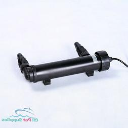 13W UV Sterilizer Light Clarifier Pond Koi Aquarium Fish Tan