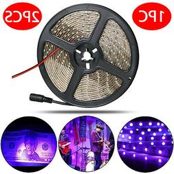 1x 2x Ultraviolet 12V LED Strip UV Light Night Waterproof 35