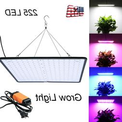 225 LED Grow Light UV Growing Lamp for Indoor Plants Hydropo
