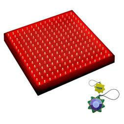 HQRP 225 Red LED Indoor Garden Hydroponic Plant Grow Light P