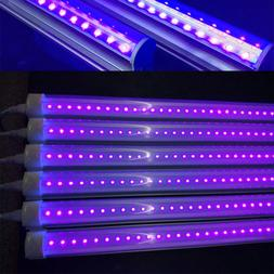 24/48 LED UV Black Light Fixtures Light Bar LED Strip Party
