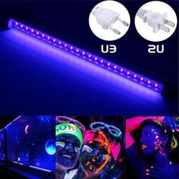 24 LED UV Black Light Fixtures UV Light Bar LED Strip Party