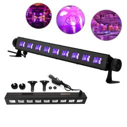 27W LED UV BAR Black Light Wall Light Xmas Purple Stage Lamp