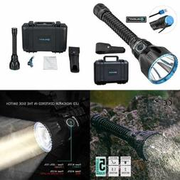 UV Flashlight BLACK Light LED Tactical Rechargeable Mini Han