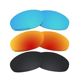 3 Pairs Polarized Lenses Replacement T2 for Oakley Twenty XX