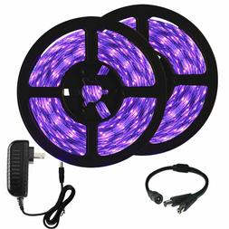 33ft Black Light Fixtures LED UV Strip Kit, 600 Units Lamp B