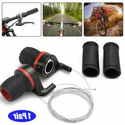 Bicycle Shift Levers Handle Bike Twist Grip Gear Cycle Speed