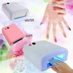 36W LED UV Lamp Light Nail Art Dryer Nail Polish Light Gel D