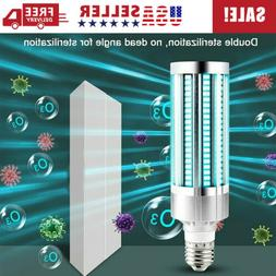 60W UV Germicidal Lamp LED UVC Bulb E27 Household Ozone Disi