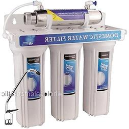 UV Sterilizer Drinking Water Filter System Ultraviolet Light