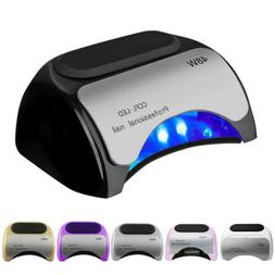 48W Professional Nail Dryer CCFL LED UV Lamp Light Curing Ma
