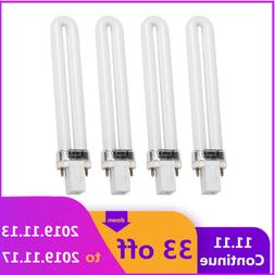 4pcs/set 9W <font><b>UV</b></font> <font><b>Lamp</b></font>