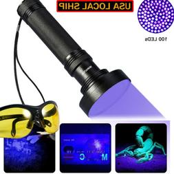 51/100LED UV Ultra Violet Blacklight Flashlight Light Inspec