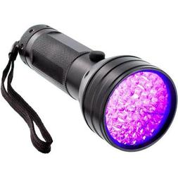 51 UV LED Scorpion Detector Hunter Finder Ultra Violet Black
