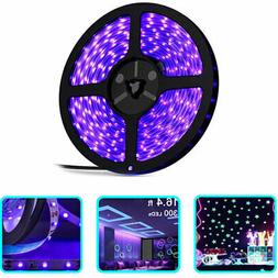 5M 3528 SMD 300 LED UV Ultraviolet Purple Flexible Strip Lig