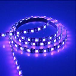 5M 5050 300 LED Strip Waterproof UV Purple Ultraviolet Flexi