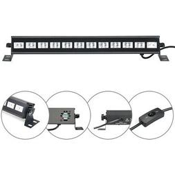 6/9/12 Tubes UV Strip Light  Black Light  LED Fixtures Stage