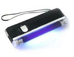 6 Inch Handheld Uv Black Light Torch With Led Flashlight Por