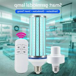 60W UV Germicidal Corn Lamp LED UVC Bulb E27 Home Ozone Disi