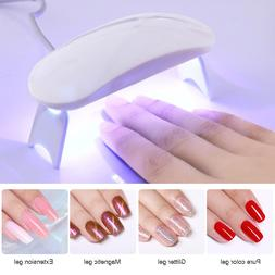 6W LED <font><b>UV</b></font> Lamp Nail Dryer LED Nail White
