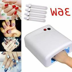 Pro Nail Art Polish Dryer Lamp 36W UV Gel Acrylic Curing Lig