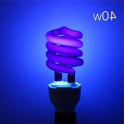 US Led light bulb 220V 40W E27 Ultraviolet UV Spiral Energy