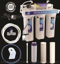 UV Ultraviolet Light Drinking Water Filter System Under Sink