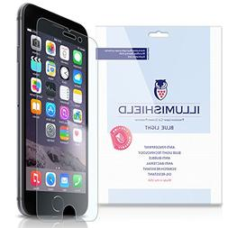 "iLLumiShield - Apple iPhone 6 Screen Protector 4.7"" +  Blue"