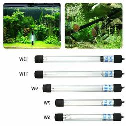 Aquarium UV Sterilizer Light Submersible Water Clean Lamp 13