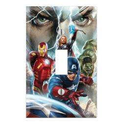 Avengers Decorative Single Toggle Light Switch Wall Plate Co