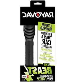 New Rayovac The Beast 2000 Lumen CR123A Flashlight RAY-RWP12