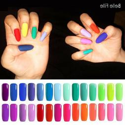 BELLE FILLE Bright light Sparkly Color Neon NAIL GEL POLISH