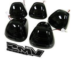 VMS Racing CAB ROOF Lights Markers 5 Piece pc COVERS with BA