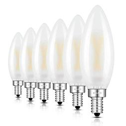 CRLight LED Candelabra Bulb 2W 3000K Soft White, 25W Equival
