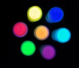 Clear UV Neon Black Light Invisible Paint  White Fluorescent
