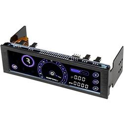 Lamptron CM430UV PWM Fan Controller with Black Housing & UV
