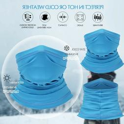 Cooling Neck Gaiter UV Protection Face Cover Scarf Sunscreen