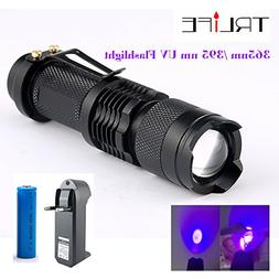 cree uv flashlight sk68 purple