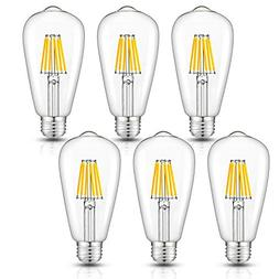 CRLight 6W Dimmable Edison Style Vintage LED Filament Light