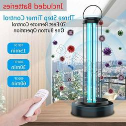 UV+Ozone Disinfection Light Household Ultraviolet Germicidal