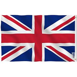 Anley [Fly Breeze 3x5 Foot United Kingdom UK Flag - Vivid Co