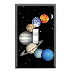 Graphics Wallplates - Planet Suite - Single Toggle Wall Plat