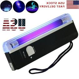 Handheld UV Black Light Torch Portable Blacklight With LED A