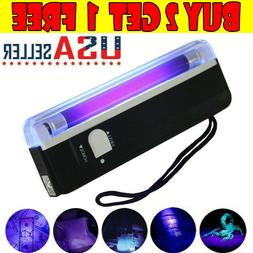 Handheld UV Black Light Torch Portable Blacklight With LED U