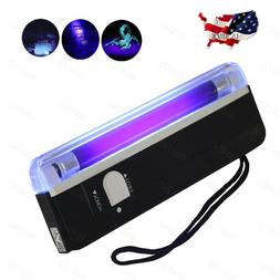 Handheld UV Black Light Torch Portable Blacklight With LED