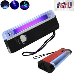 Handheld UV Purple Light Torch Portable Blacklight with LED