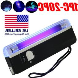 Handheld UV Ultra Violet LED Flashlight Blacklight Inspectio