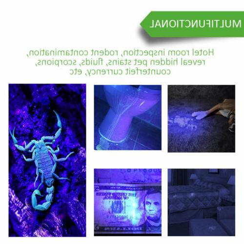 100 LED UV 400nm Scorpion Detection Light Outdoor